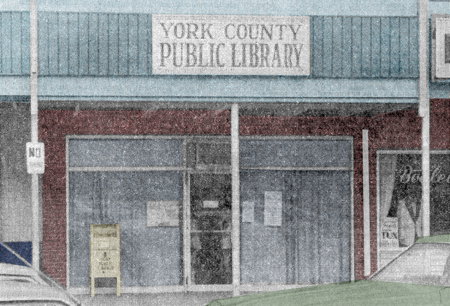 York County Public Library pre-1984